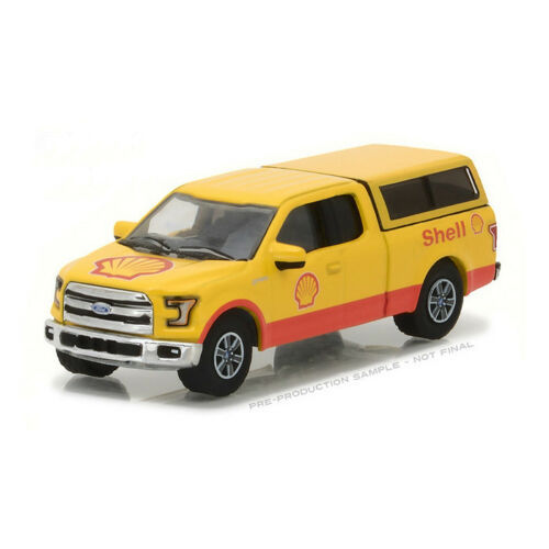 2016 Ford F-150 with Camper Shell - Greenlight 1:64 #41030-E