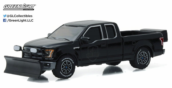 2015 Ford F-150 Black Bandit - Greenlight 1:64 27880