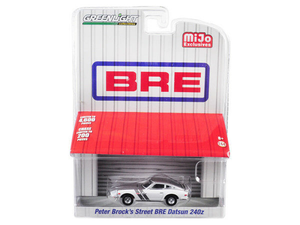 Peter Brock's Street BRE Datsun 240z - Greenlight 1:64 #51157