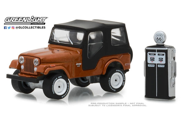 1974 Jeep CJ-7 - Greenlight 1:64 #97050-D