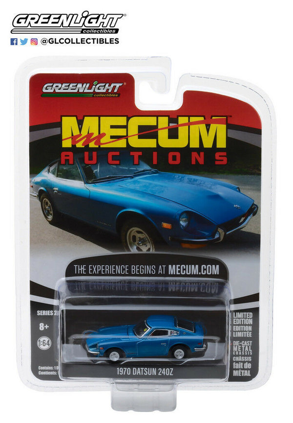 1970 Datsun 240Z - Greenlight 1:64 #37140-B