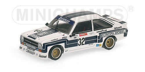 FORD ESCORT II RS 1800  NÜRBURGRING 1976 Minichamps 1:43  400768432