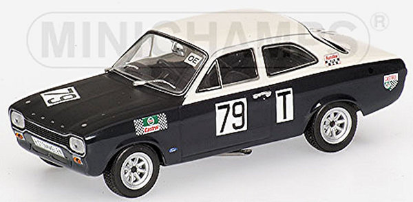 FORD ESCORT I TWIN CAM - 500KM NÜRBURGRING 1968 Minichamps 1:43 400688179