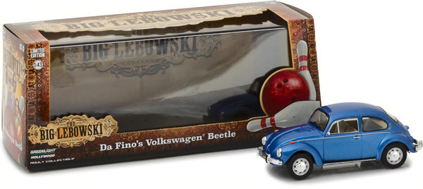 VOLKSWAGEN BEETLE - Greenlight 1:43 86496 BIG LEBOWSKY