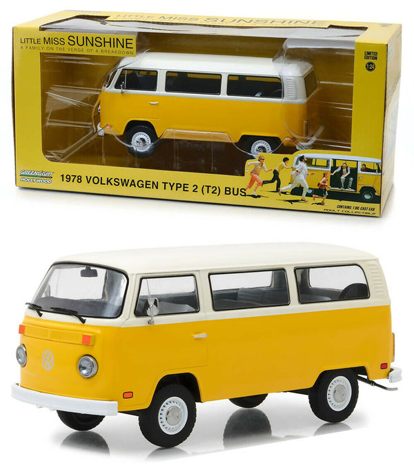 1978 VW Type 2 Bus - Greenlight 1:24 84081