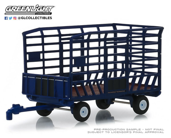 Bale Throw Wagon - Greenlight 1/64 #48020-F