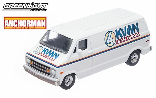 "Dodge Van ""ANCHORMAN"" - Greenlight 1/64 #44650"