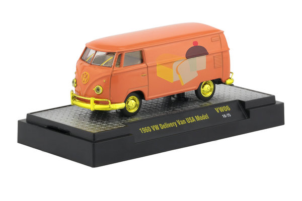 "1960 VW Delivery Van USA Model ""CHASE VAN"" - M2 VW06 18-75 1:64"