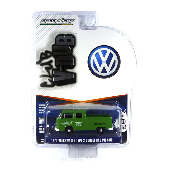 1975 VW T2 - Greenlight 1:64 #29890-D
