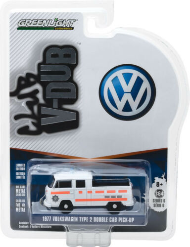 1977 VW T2 - Greenlight 1:64 #29890-E