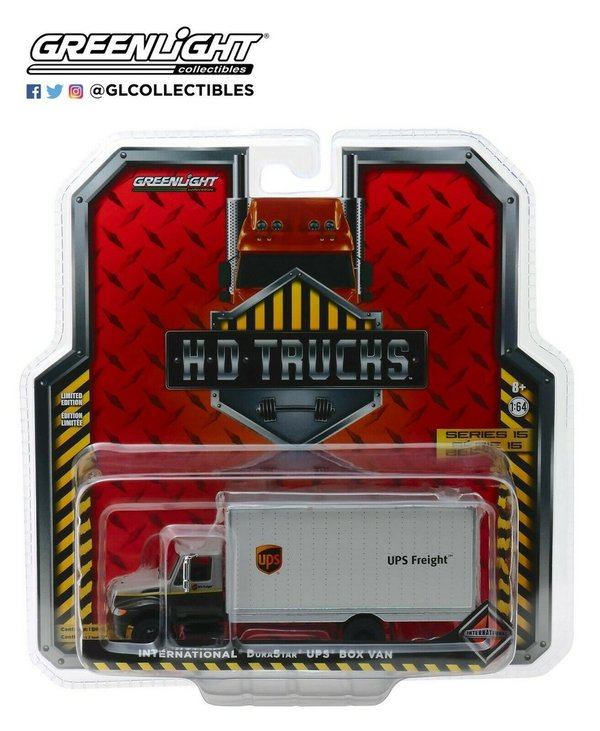 2013 International DuraStar UPS - Greenlight 1:64 #33150-B