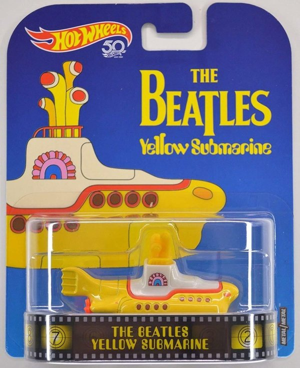 The Beatles - Yellow Submarine - Hot Wheels 1:64 #FLD07
