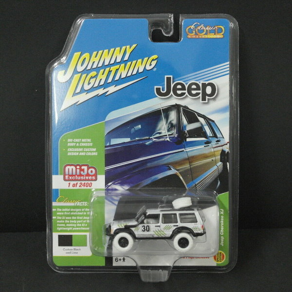 Jeep Cherokee XJ - CHASE - Johnny Lightning 1:64 #JLCP7047