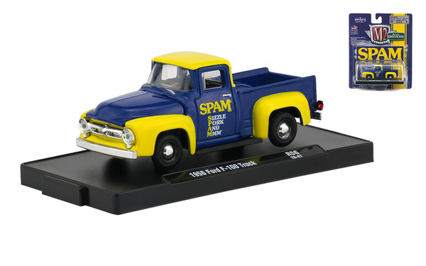 1956 Ford F-100 Truck - M2 1:64 #R56 18-41