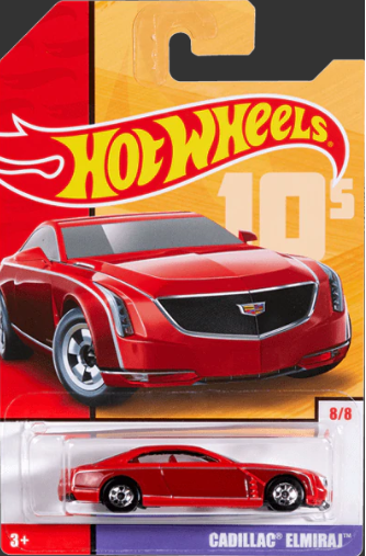 00's Cadillac Elmiraj - Hot Wheels 1:64 #GBB92