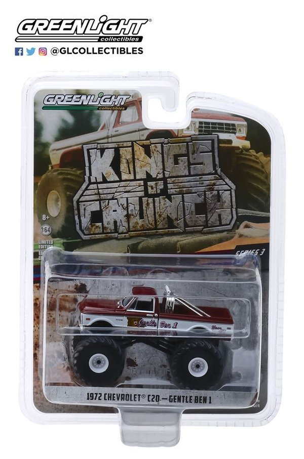 1972 Chevrolet C20 - Gentle Ben - Greenlight 1:64 #49030-F