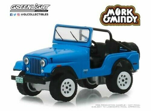 1972 Jeep CJ-5 - Greenlight 1:64 #44830-A