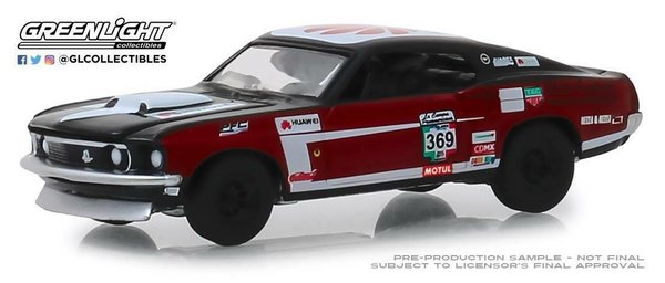 1969 Ford Mustang Mach1 - Greenlight 1:64 #13240-D