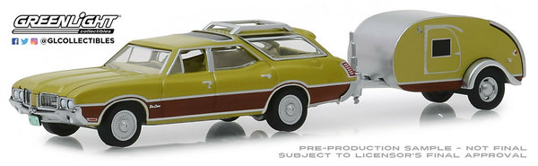 1971 Oldsmobile Vista Cruiser - Greenlight 1:64 #32170-A