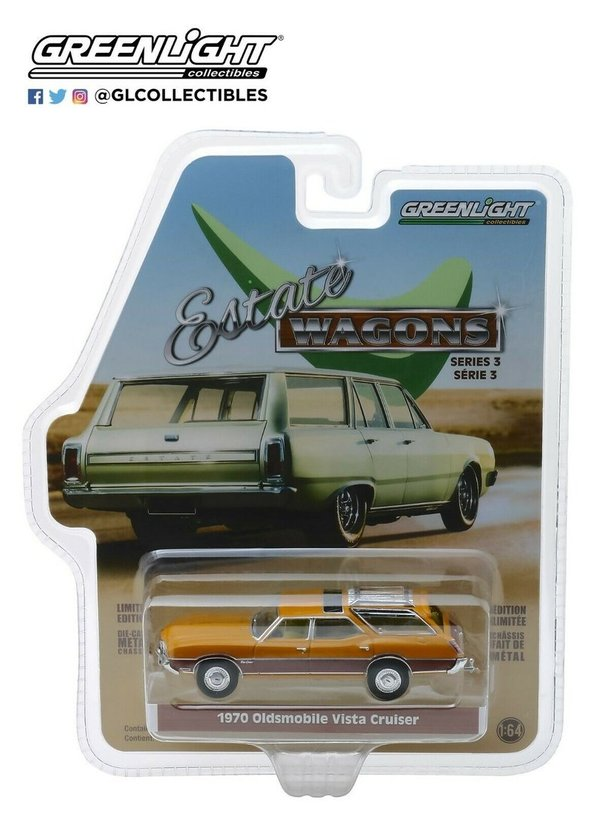 1970 Oldsmobile Vista Cruiser - Greenlight 1:64 #429950-C