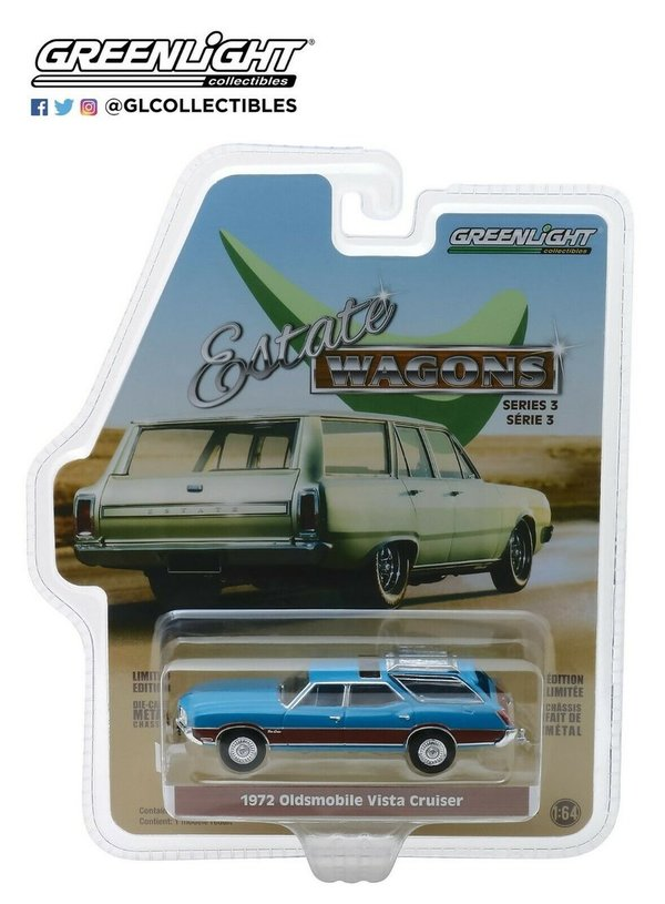 1972 Oldsmobile Vista Cruiser - Greenlight 1:64 #29950-D