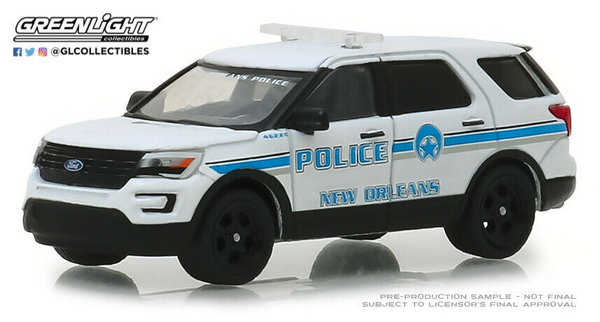 "2016 Ford Interceptor ""New Orleans"" - Greenlight 1:64 #42870-E"