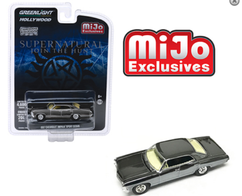 1967 CHEVROLET IMPALA SPORT SEDAN - Greenlight 1:64 #51222