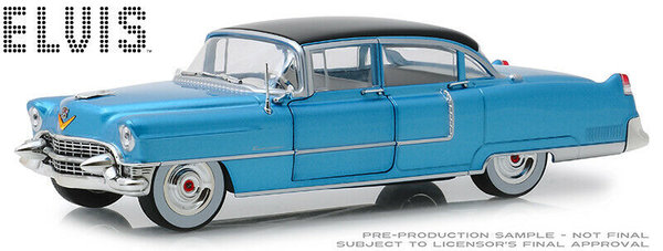 "1955 Cadillac Fleetwood ""ELVIS"" - Greenlight 1:24 #84093"