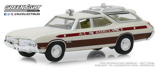1970 Oldsmobile Vista Cruiser - Greenlight 1:64 #30066