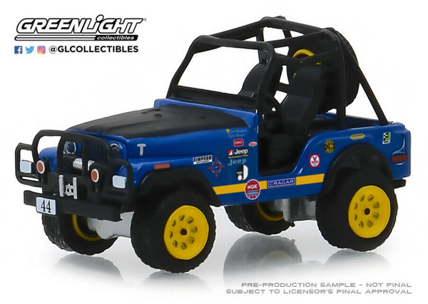 1971 Jeep CJ-5 - Greenlight 1:64 #35130-B