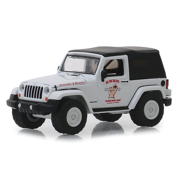 2012 Jeep Wrangler - Greenlight 1:64 #39010-E