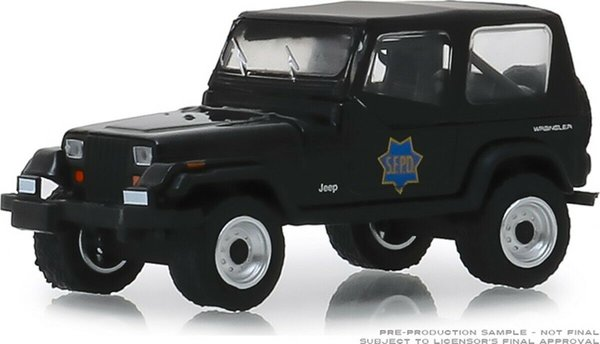 1994 Jeep Wrangler - Greenlight 1:64 #42890-D