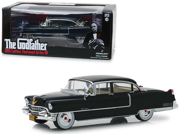 1955 Cadillac Fleetwood Series 60 - Greenlight 1:24 #84091