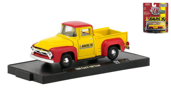 1956 Ford F-100 - M2 1:64 #R58 18-54