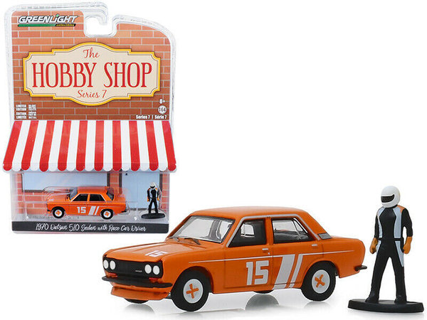 1970 Datsun 510 - Greenlight 1:64 #97070-D