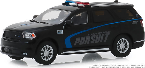 30098 | 1:64 2019 Dodge Durango Pursuit Police SUV - Black (Hobby Exclusive)