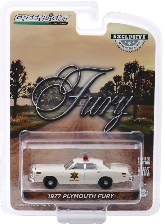 30110 | 1:64 1977 Plymouth Fury - Hazzard County Sheriff (Hobby Exclusive)