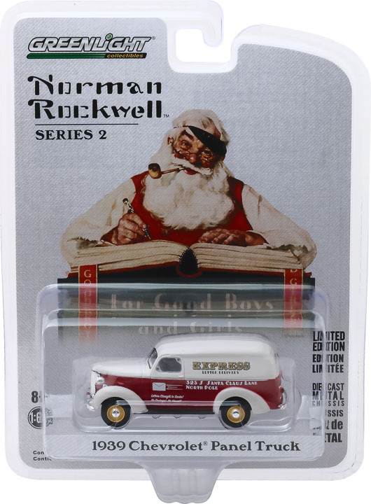 54020-A | 1:64 Norman Rockwell Series 2 - 1939 Chevrolet Panel Truck