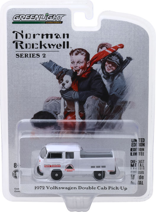 54020-E | 1:64 Norman Rockwell Series 2 - 1972 Volkswagen Type 2 Double Cab Pickup