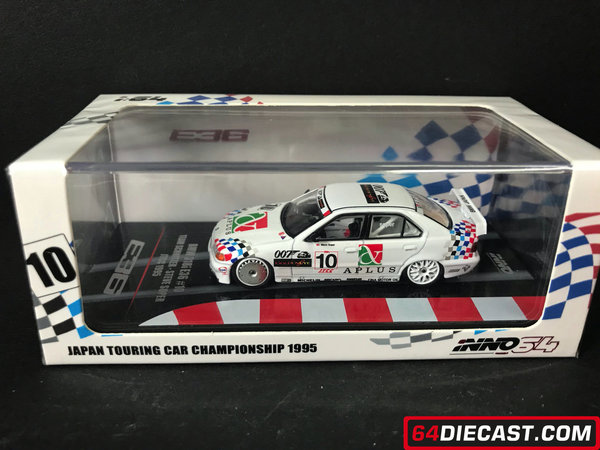 "1:64 BMW E36 318i #10 Japan Touring Car Championship 1994 ""Team Schnitzer"" - Steve Soper"