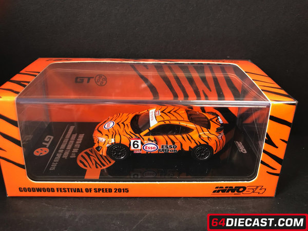 "1:64 TOYOYA GT86 #6 ""ESSO ULTRON TIGER"" Goodwood Festival of Speed 2015"