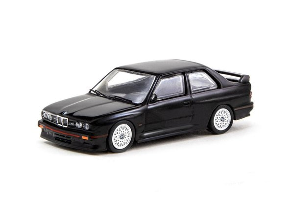 Tarmac Works 1/64 BMW M3 (E30) Sport Evolution Black - ROAD64