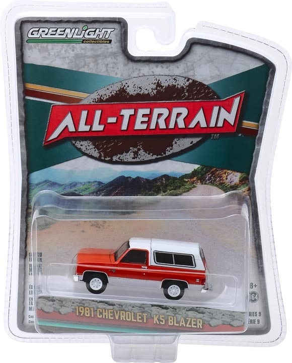 35150-B 1:64 All-Terrain Series 9 - 1981 Chevrolet K5 Blazer