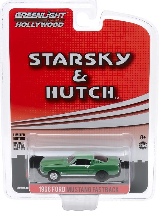 44855-B 1:64 Starsky and Hutch 1966 Ford Mustang Fastback