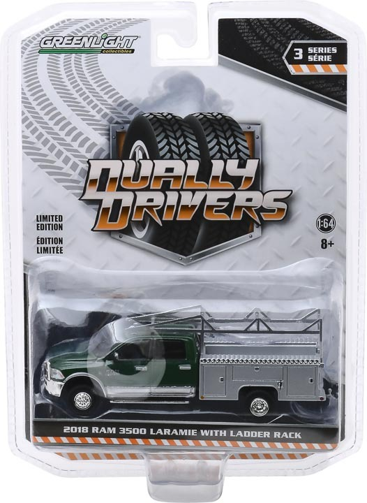 46030-C | 1:64 Dually Drivers Series 3 - 2018 Ram 3500