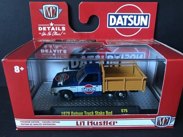 S75-19-73 M2 machines 1979 Datsun Truck Stake Bed