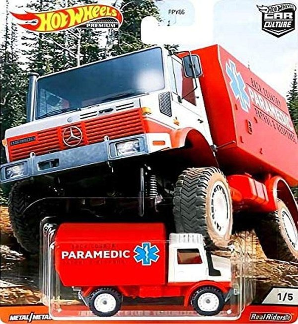 Hot Wheels 2020 Car Culture Wild Terrain 1988 Mercedes Unimog U1300 GJP90