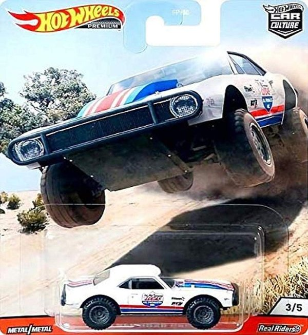 Hot Wheels 2020 Car Culture Wild Terrain 1967 Off Road Camaro GJP89