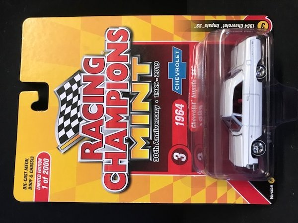 RC010A-3 1964 Chevrolet Impala Racing Champions 1:64