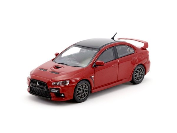 Tarmac Works 1/64 Mitsubishi Lancer Evolution X Final Edition Rally Red - ROAD64